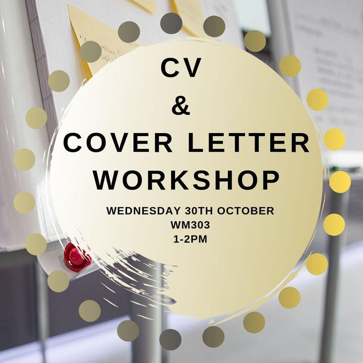 CV & COVER LETTER WORKSHOP (LAW, FINAL YEAR) Tickets, Wed 30 ...