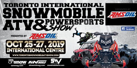 Toronto International Snowmobile, ATV & Powersports Show 2019 tickets