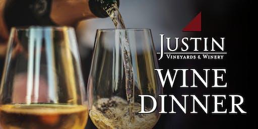 JUSTIN Wine Dinner