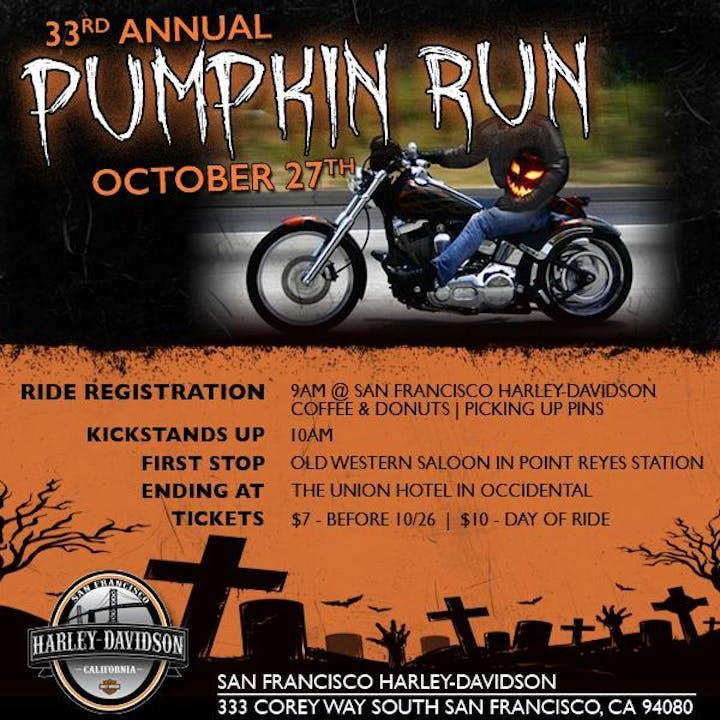 Harley Davidson San Francisco >> San Francisco H D Annual Pumpkin Run To The Union Hotel