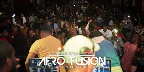 AFRO FUSION SATURDAY:   HIPHOP, DANCEHALL, AFROBEAT, SOCA, LATIN & MORE tickets