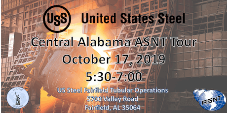 ASNT Alabama Central US Steel OCTOBER Tour 2019 tickets