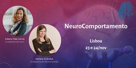 Imersão em NeuroComportamento bilhetes