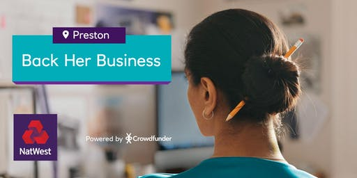Back Her Business Preston - Turning ideas into businesses - Free Event