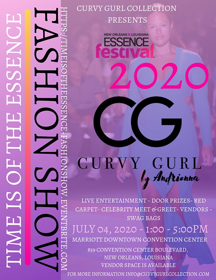 Curvy Gurl Collection Presents: Time is of the Essence Fashion Show image
