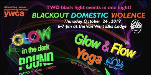 Blackout Domestic Violence - Glow POUND and YOGA