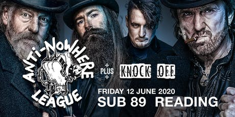 Anti-Nowhere League plus Knock Off tickets