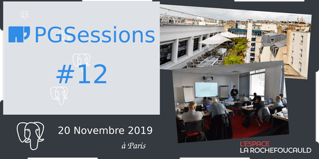 PGSession #12 : journée Ateliers tickets