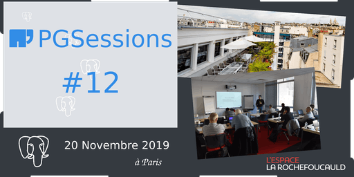 PGSession #12 : journée Ateliers