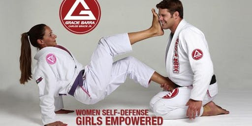 Free Women's Self-Defense Classes at Gracie Barra Saddle Rock Jiu-Jitsu