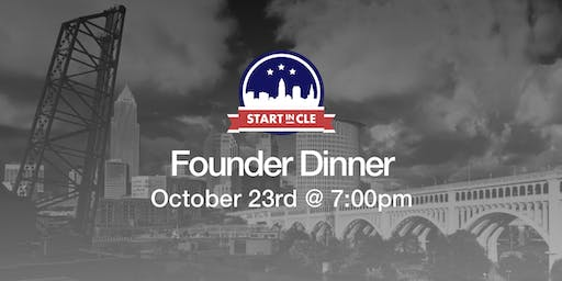 Start in CLE Founder Dinner - October 2019