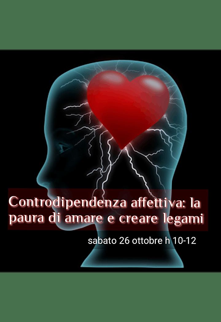 Immagine Controdipendenza affettiva: la paura di amare e cr