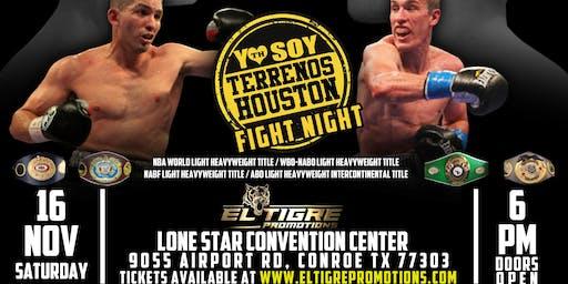 Terrenos Houston Fight Night
