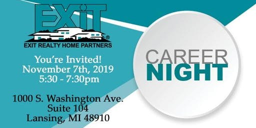Career Night at EXIT Realty Home Partners