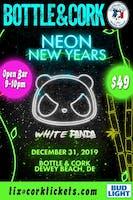 White Panda Neon  NYEVE Party