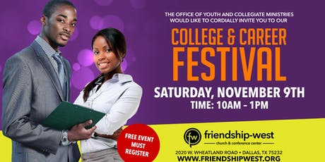 College & Career Festival tickets