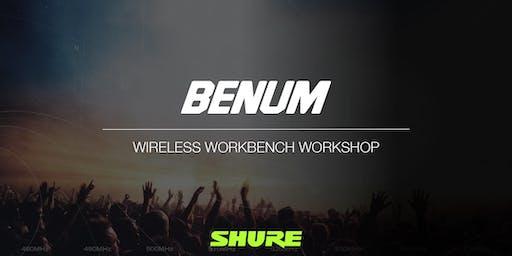 BENUM AB - TOTAL RECALL - Shure Wireless Workbench