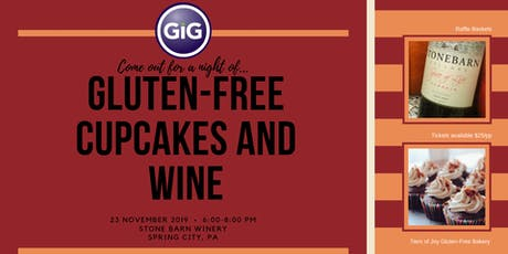 Gluten-Free Cupcakes and Wine tickets
