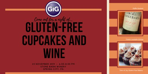 Gluten-Free Cupcakes and Wine