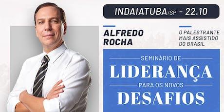 Seminário de Liderança (Indaiatuba/SP) com Alfredo Rocha ingressos