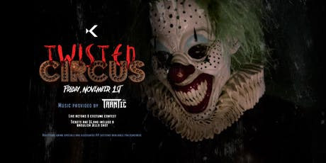 Twisted Circus Part 1 at Kabana Rooftop tickets