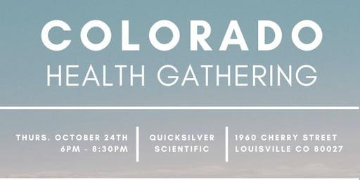 Colorado Health Gathering -Health professionals connecting with one another