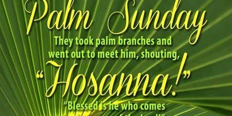 Palm Sunday of the Lord's Passion Sunday 11 am Mass English tickets