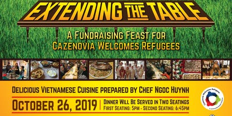 Extending the Table Fundraiser and Feast tickets