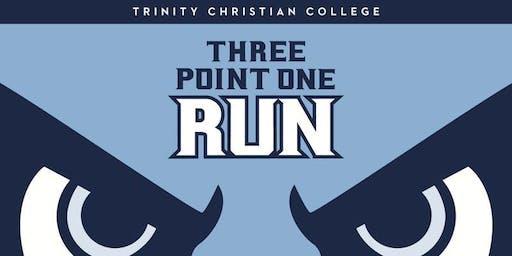 2019 Trinity Three Point One Run (or Walk)