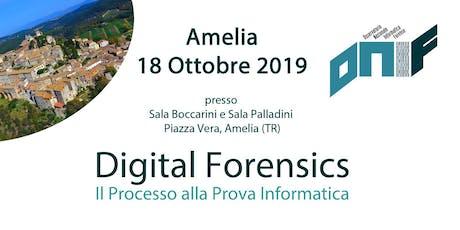 DIGITAL FORENSICS: IL PROCESSO ALLA PROVA INFORMATICA biglietti