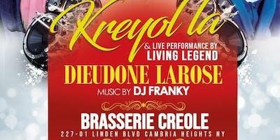Kreyol La & live Performance by Living Legend Dieudone Larose