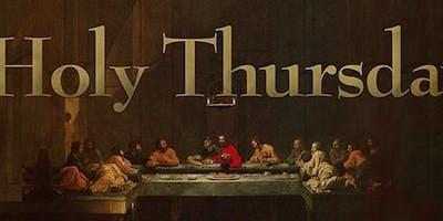 Easter Triduum - Holy Thursday at 7:00 pm