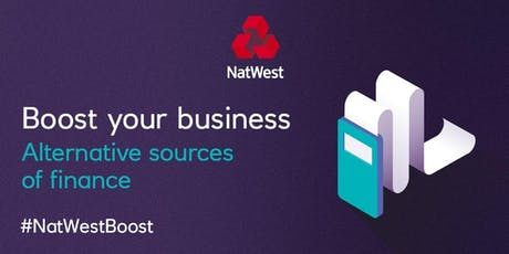 Funding your Business with #NatWestBoost and Burrow & Crowe Accountants tickets