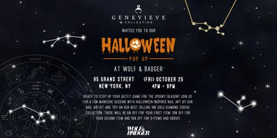 Genevieve Collection Halloween Pop Up