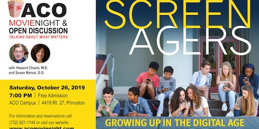 ACO Movie Night/Open Discussion featuring SCREENAGERS