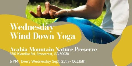 Yoga in the Park at Arabia Mountain Nature Preserve - Oct 16th tickets