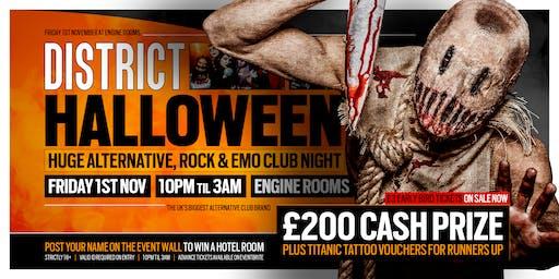 DISTRICT Southampton // Halloween 2019 // Engine Rooms