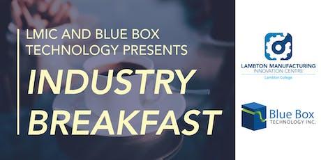LMIC Industry Breakfast - Blue Box Technology tickets