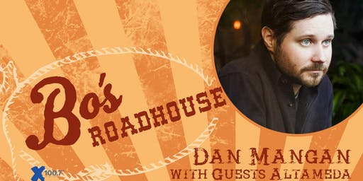 DAN MANGAN w/ ALTAMEDA---BO'S ROADHOUSE BIG BAND SMALL ROOM SERIES