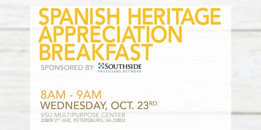 Spanish Heritage Appreciation Breakfast