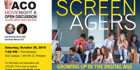 "ACO Movie Night featuring ""SCREENAGERS"" tickets"