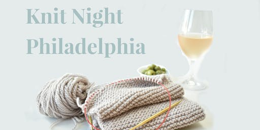 Row House Knit Night - Philadelphia - Oct 22nd
