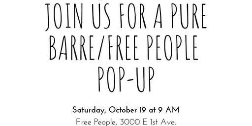 Free People Pop-Up Class