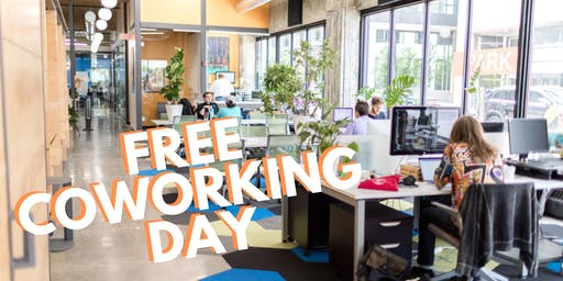 FREE Coworking Day at Gravitate Coworking Downtown