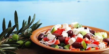 Greek Cooking Class tickets