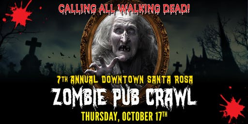 Downtown Santa Rosa Zombie Crawl