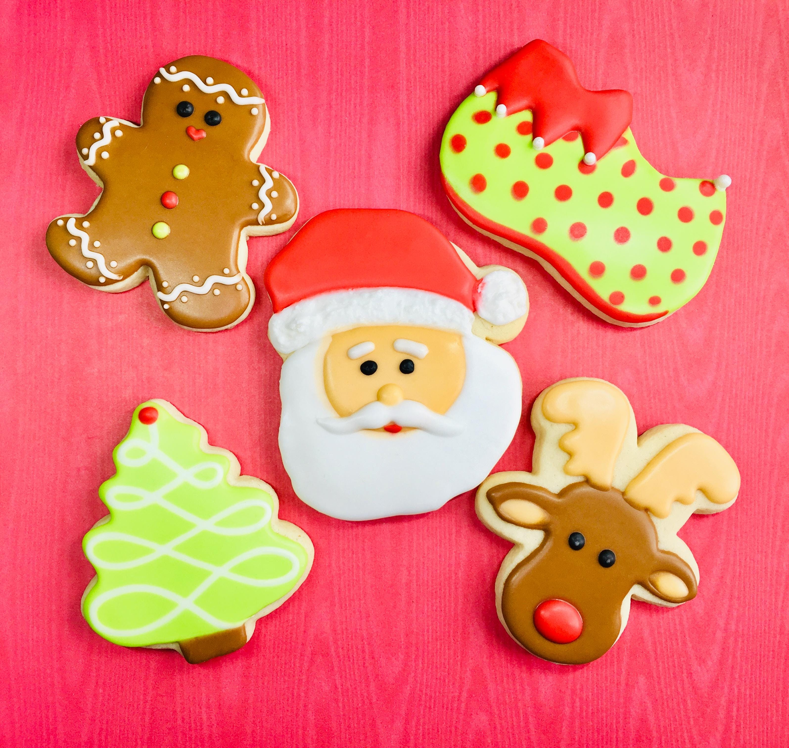 Cookie Decorating Class - Christmas theme beginners welcome