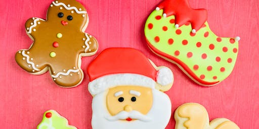 Cookie Decorating Class - Christmas theme; beginners welcome