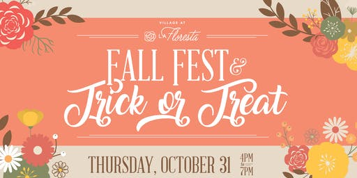 Fall Fest and Trick or Treat at Village at La Floresta