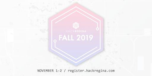 HackRegina Fall 2019 Hackathon